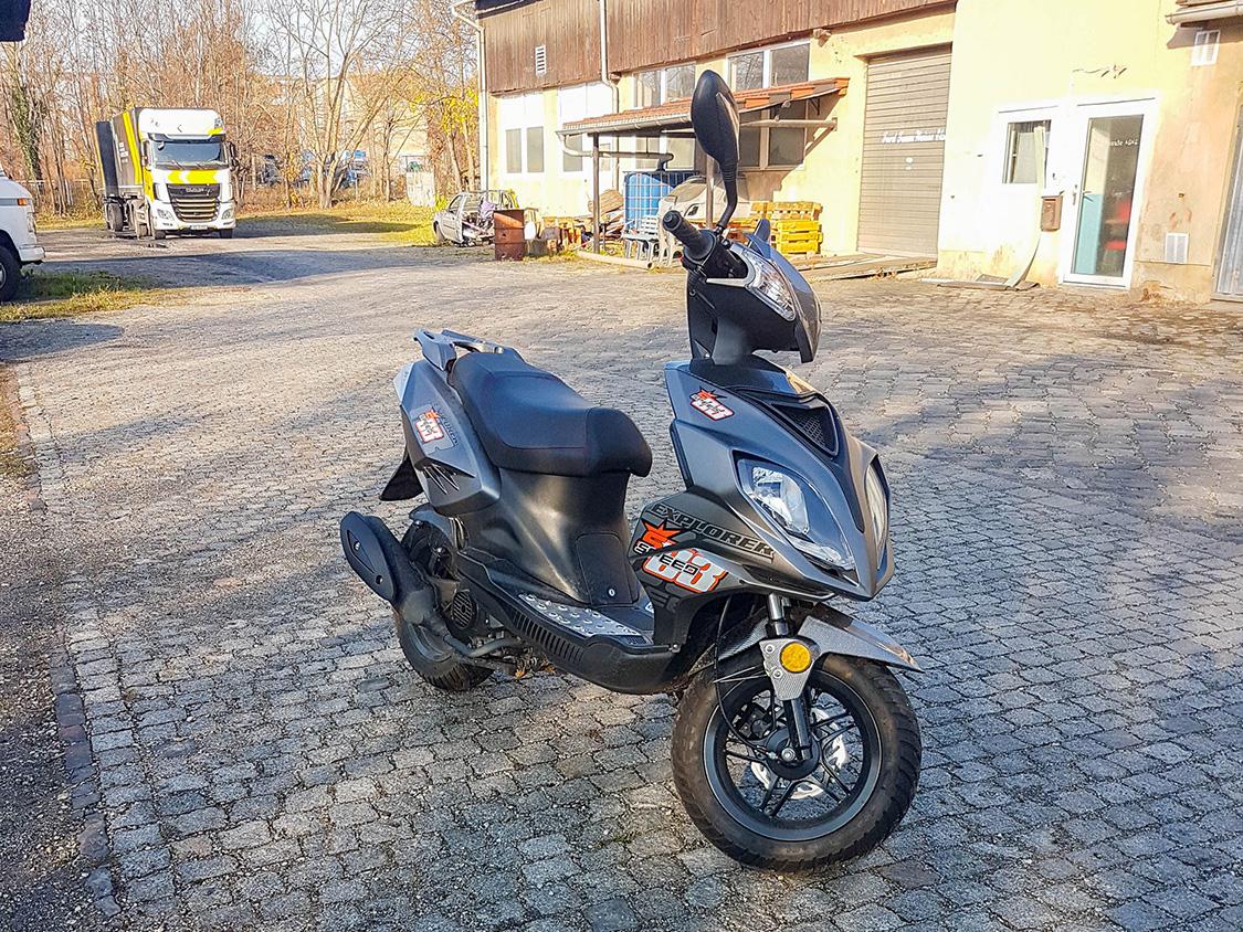 Motorroller GMX